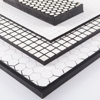 Impact Resistant Ceramic Rubber Composite Board, Ceramic Rubber Composite Plate