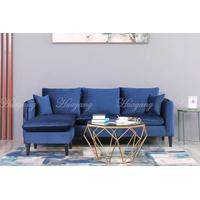 Home Furniture L Shape Living Room Fabric Corner Sofa Set thumbnail image