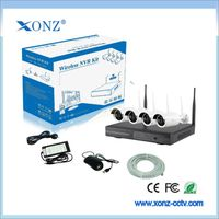 Economical HD CCTV Camera System security camera system 4ch monitor dvr wholesale
