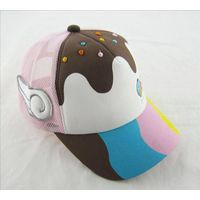 colourful girl children hat