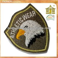 Fashion custom embroidery patch  direct factory