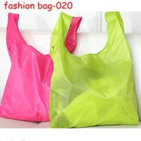 Promotional Eco-friendly Recycle Portable Waterproof Folding Shopping Bags thumbnail image