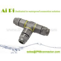 ip68 waterproof T connector