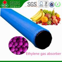 Ethylene absorber for fruit