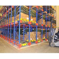New Product-Warehouse layout-high density radio shuttle pallet racking