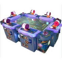 Arcade Game Fish Hunter Game Machine Ocean Monster Ocean King 6P fish Redemption Table Game Machine