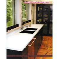 Discount Gem brand pure white quartz countertops