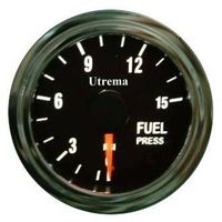 Utrema Auto Fuel Pressure Gauge Illuminated 52mm