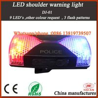 Police LED Shoulder Warning Light