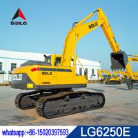 SDLG 25T hydraulic crawler excavator LG6250E with volvo technology and low price