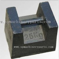 OIML Standard 25kg M1 cast iron test weight Make In China