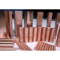 High thermal conductivity and high electrical conductivity copper alloy rods