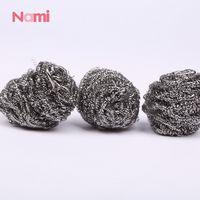 Nami Brand Stainless Steel Pan Scrubbers Steel Wire Scouring Pad Stainless Steel Wool Scrubbers thumbnail image