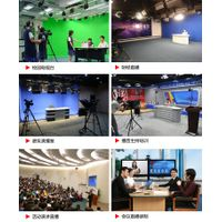 HD 4-Channel Real Time Video Mixer 3D Virtual Sets Scene Live Streaming / HD Chroma Key Green Screen