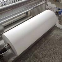 Minrui supply high quality matte white destructible vinyl material roll