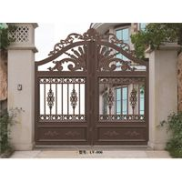 2017 aluminum door gate designs for garden LY-906 thumbnail image