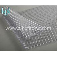 PVC Transparent Vinyl Fabric Laminated