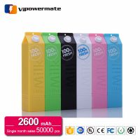 Hot Selling Model PT-46 2600mAh Milk Power Bank