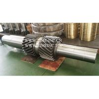 Hot forging Rough machining Heat treat Gear Shaft