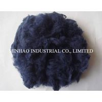Polyester staple fiber navy color