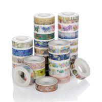 New Design Custom Printed Multi Colorful Decoration Cartoon Adhesive Washi Tape Print thumbnail image