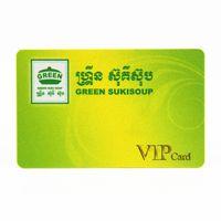 Club visit card preprinted embossed magnetic stripe band PVC membership cards thumbnail image