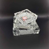 High quality glassware glass ashtray