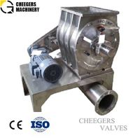 Stainless Steel Drop Through Pneumatic Rotary Valve thumbnail image
