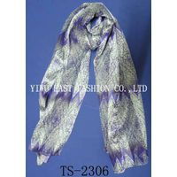 Fashion embroidered scarf