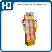 Children's toy counter top paper display