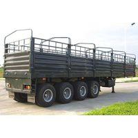 4 Axles storehouse semi-trailer