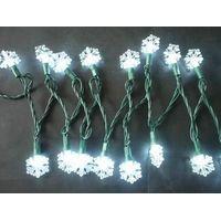 snowflake LED christmas tree decoration string light thumbnail image
