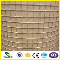 1.0mm with 25mmX25mm opening stainless steel welded wire mesh