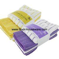 Microfiber multi purpose cleaning cloth set