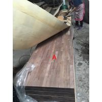 black walnut finger joint panel-horizontal joint