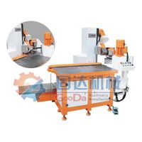 NC pneumatic clamping chamfering machine