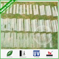 Transparent Corrugated PC Sheet Polycarbonate Tiles for Greenhouse Roofing thumbnail image