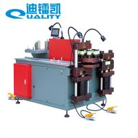Hydraulic copper busbar machine