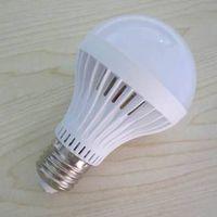 2015 Newest product Led lighting 5W Plastic E27 E26 base led light bulb