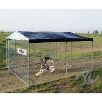 Chainlink fence panel kennelcanine kennels dog kennel wire mesh thumbnail image