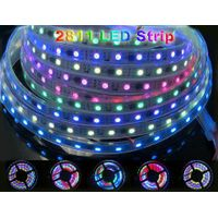 2811 Dream Magic Color 5050 RGB Digital LED Strip,DC12V 60LED/m IP67 Waterproof LED Strip