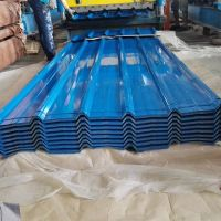 High Glossy Ral Color Prepainted Trapezoidal Metal Roofing Sheet thumbnail image