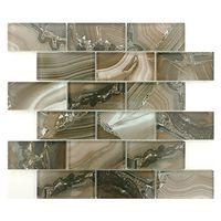Chalcedony glossy mosaic high temperature inkjet