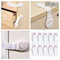 Baby Child Kids Adhesive Door Cupboard Cabinet Fridge Drawer Safety Locks thumbnail image
