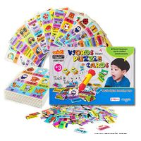 Words puzzle cards