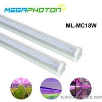 Intergrated T8 led grow tube light for multilayer cultivation or seedling thumbnail image