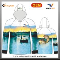 Fishing jersey with quick dry,anti-bacterial and Uv-cut