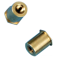 high quality brass CNC machined part OEM factory in China thumbnail image