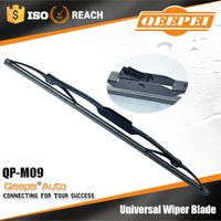 natural rubber light weight universal metal windshield wiper blade
