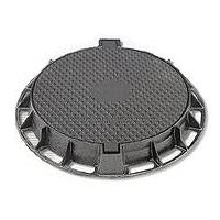 Ductile casting iron manhole cover